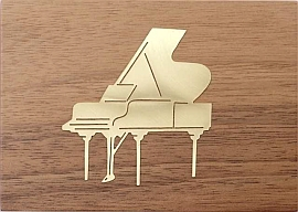 Jobin Muziekdoos 18-tonen messing decoratie Piano