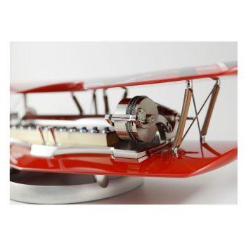 Reuge Muziekdoos 144-tonen Biplane Rood