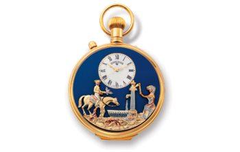 Reuge Horloge Muziekdoos 17-tonen Charles Blue