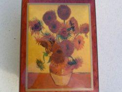 Ercolano 18-tonen Sunflowers 1888 Van Gogh